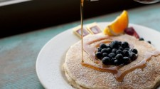 Blueberry-Lemon Zest-Ricotta Pancakes