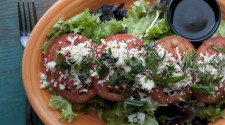 "Beecher's ""Caprese"" Salad with Balsamic Dressing"