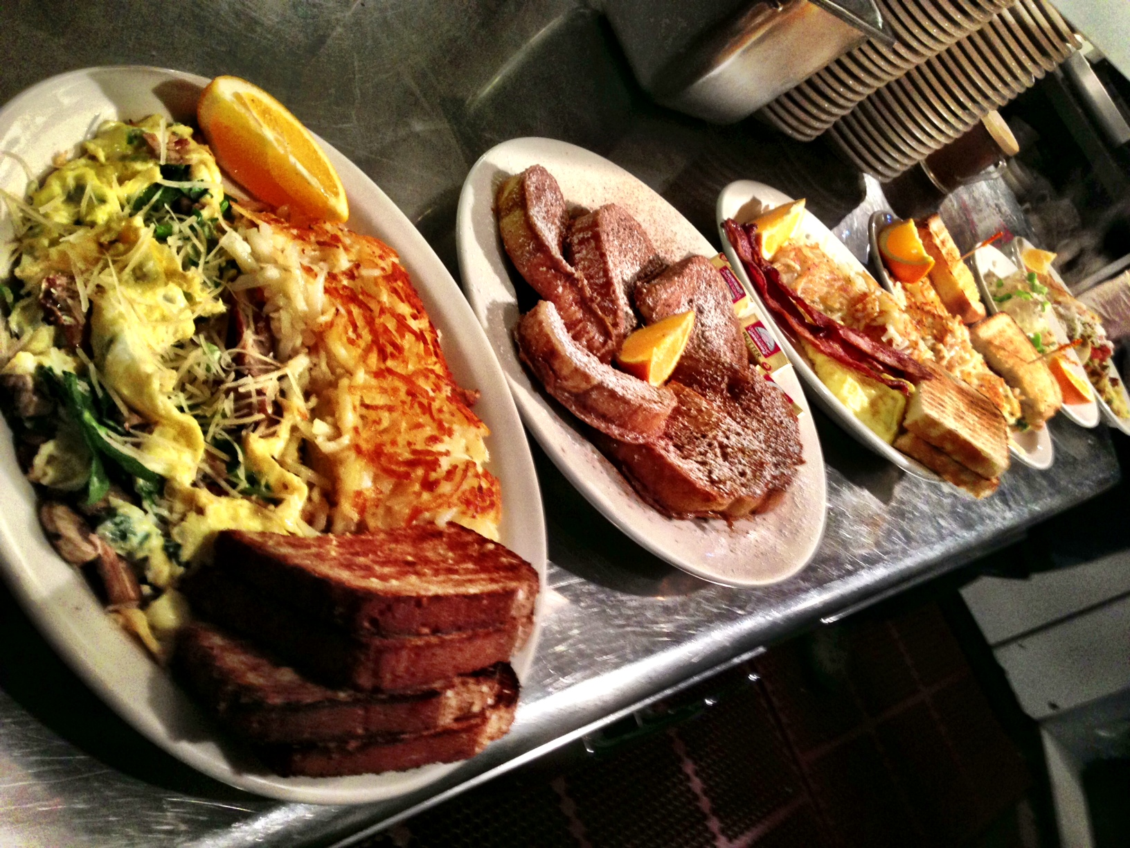 Line 'em up and get some holiday fuel, it's going to be a big day, breakfast first!