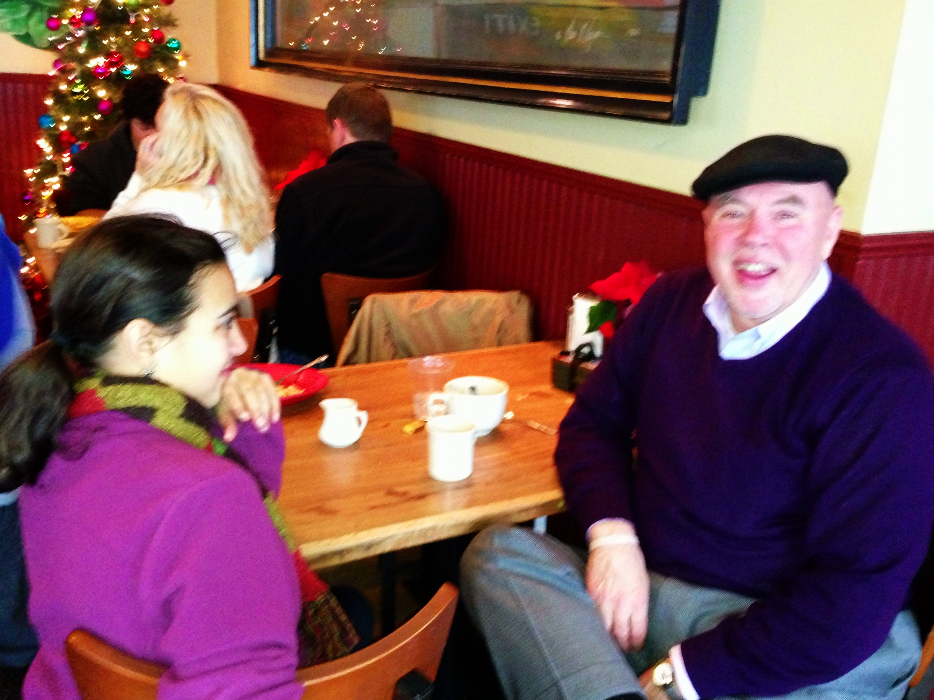 Michael & Maria from Edmonds, WashingtonLoyal regulars smiling through the day!