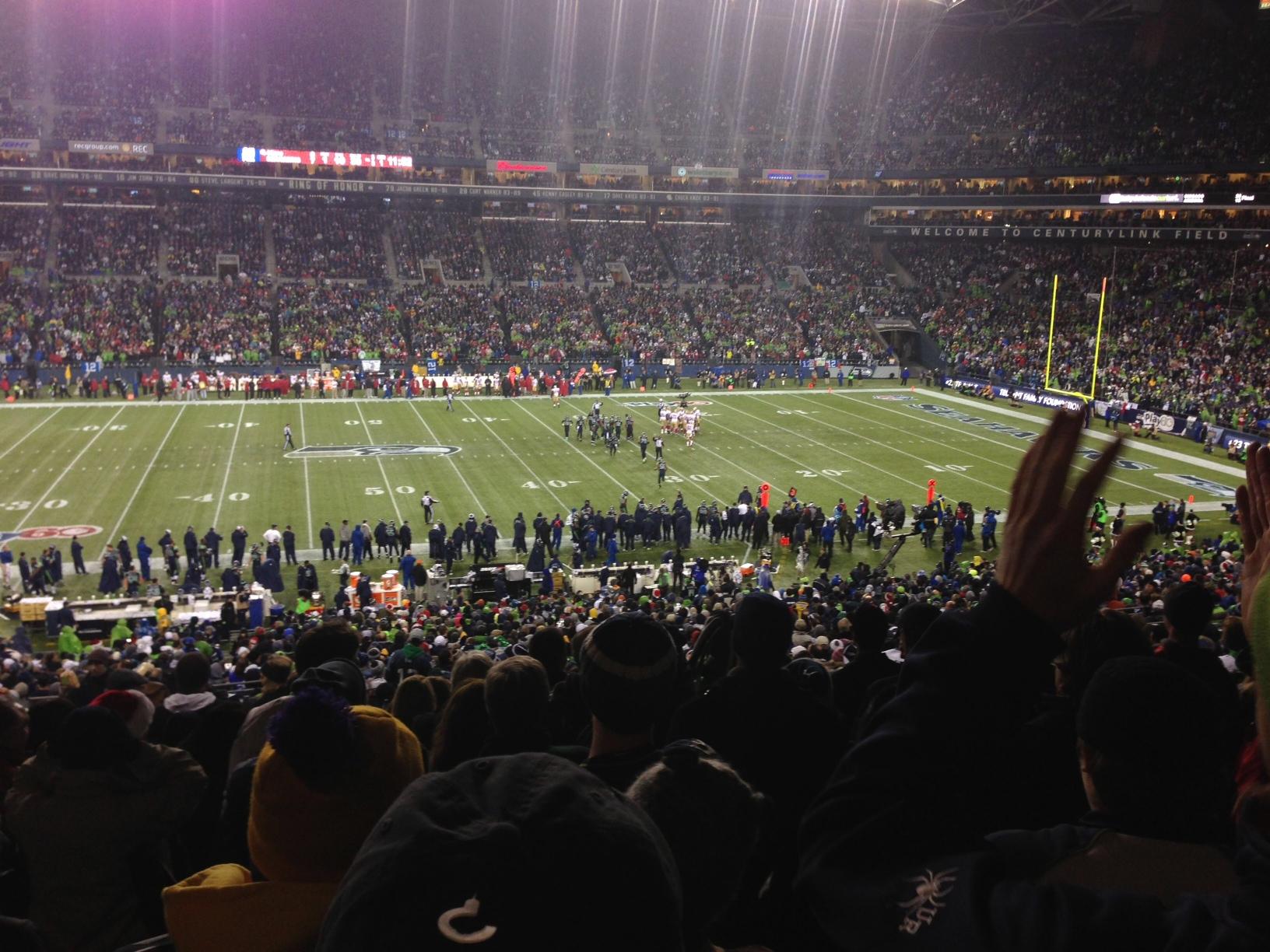 Seahawks punish the Niner's, Sunday Dec. 23rd, 2012