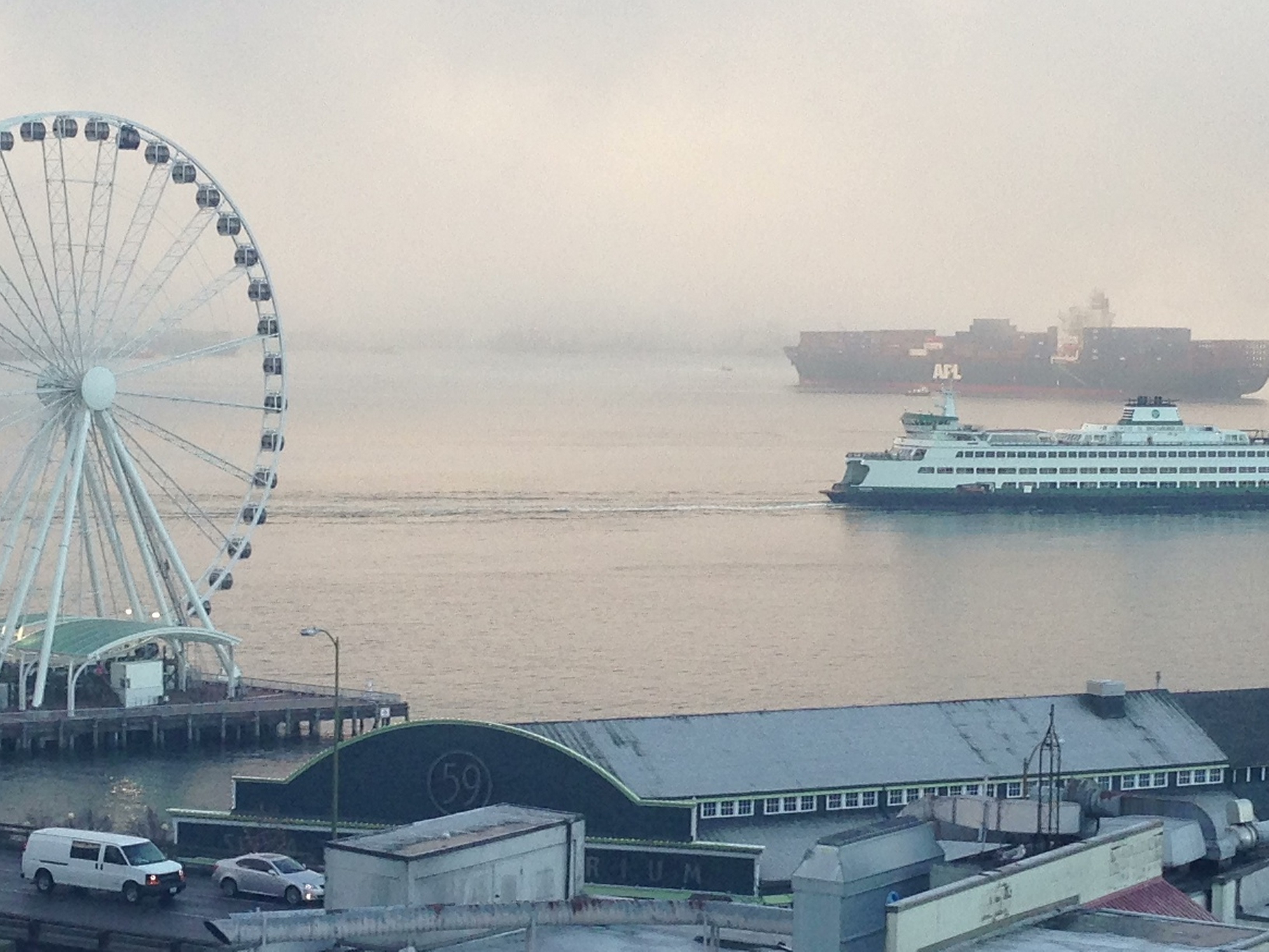Fog Wheel & Boats
