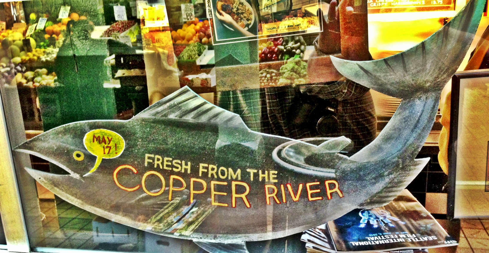 Fresh Copper River Salmon Season!