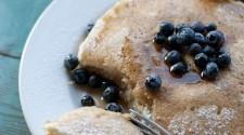 Lemon Ricota Blueberry Pancakes