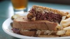A Reuben with a Draft Manny's...Ohhh Yeah!