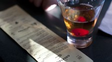 """Buffalo Trace"" Manhattan, Half Drank, Gimme Another!"