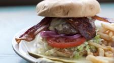 Beecher's Flagship Cheddar Bacon Burger